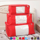 Waterproof Bedding Clothing Blanket Container Orangizer Bag Storage Box