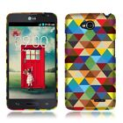 For LG Optimus L70 D325 MS323 Exceed 2 VS450 Protective Hard Cover Phone Case