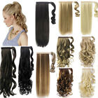 UK Post Top wrap around ponytail hair extensions Lowest Price Best Quality New