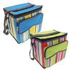 Large Cooler Bags Blue Green Cool Insulated Zip Box Summer Lunch Box Picnic