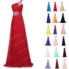 Luxury CHEAP Wedding Formal Party Bridesmaid Long Maxi Prom Ball Evening Dresses