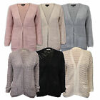 ladies cardigan Brave Soul womens cable knitted boyfriend open front waffle