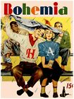 397.Cuban Bohemia Cover POSTER.Baseball Fans.Beisbol.Romantic.Home Office art.
