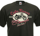 T-shirt CAFE RACER - Vintage Motorcycle Biker Custom Royal Enfield Triumph BSA $18.16 CAD on eBay