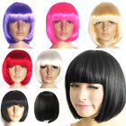 LADIES NEW SEXY FASHION BOB STYLE SHORT WIG PARTY FANCY DRESS COSTUME COSPLAY