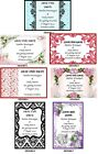 WEDDING SAVE THE DATE CARDS - VARIOUS DESIGNS