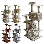 FoxHunter Kitten Cat Tree Scratcher Post Sisal Toy Activity Centre Bed CAT005