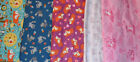 JOANN GREAT FOREST ANIMALS, RACOONS, BEARS PRINTS FLANNEL 1 YARD PRINT CHOICE