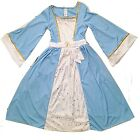 Nativity Mary Christmas Blue Fancy Dress up Costume School Play Outift New