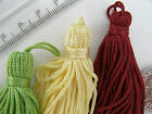 Collana Small Key Tassel - orange, lime, lemon, lilac and wine