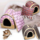 Pet Dog Cat warm nest bed soft kennel puppy Winter House Kennel small / large