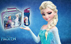 Disney Frozen Elsa Olaf & Anna Insulated School Lunch Bag /  Water Bottle New