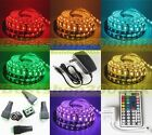 5050 RGB SMD Waterproof 5M 60Leds/M Flexible LED Strip Christmas home Car Light
