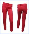 NEW LOOK RED SKINNY JEANS SIZE 8 -16 AVAILABLE