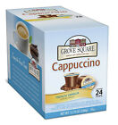 Coffee Pods KCups - Grove Square Cappuccino Kcups For Keurig Pick Flavor And Size