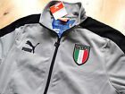 S M L XL PUMA ITALIA TRACK JACKET Top football soccer calcio New ITALY ZIP PKTS