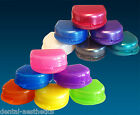 Retainer Cases x 2 ~ Gumshield Box Glitter & Plain Colour, Brace Denture Storage