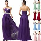 2014 Fabulous Maxi Evening Bridesmaid Gown Wedding Party Prom Long Pageant Dress