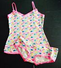 Womens Ladies Love Heart Vest & Brief Underwear Sleep Set Primark Various Sizes