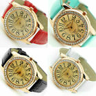 UK CH Watches For Women Crystal 5 Colors Round Free Shipping Analog Dress Cheap