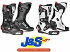 SIDI MAG 1  MOTORCYCLE BOOTS SPORTS MOTORBIKE BOOT ALL COLOURS + ALL SIZES J&S