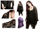 Gothic Jordash Dark Star Black Or Purple Gothic Lace Jacket