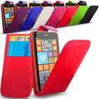 Nokia Lumia 625- PU Leather  Flip Case Cover Pouch & Screen Protector
