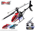 MJX F46 Pro 2.4Ghz Single Rotor Radio Controlled 4 CH Gyro RC Helicopter Outdoor