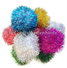 "Jumbo Sparkle Pom Pom Ball Cat Toys Glitter - 2.5"" to 3"" You Choose the Quantity"