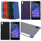 SONY XPERIA Z2 HARD PROTECTIVE PHONE CASE COVER WITH FELT FINISH