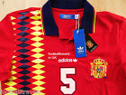 S M L XL ADIDAS SPAIN RETRO CLASSIC FOOTBALL SHIRT jersey soccer calcio NEW TAG