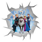 Frozen Wall Crack V1 Vinyl Wall Self Adhesive Sticker Decal Print Multi Size