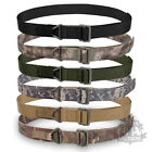 BRITISH ARMY RIGGER BELT SURPLUS WEBBING COMBAT TACTICAL SWAT FIRE RESCUE CQB