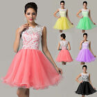 Lady Girls Short Mini Ball Evening Prom Dresses Cocktail Party Dance Dress 6-20