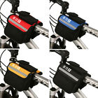 Practical Cycling Bike Outdoor Sports Bicycle Frame Pannier Front Tube Bag T156