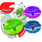 Original Maped GALACTIC 1 Hole Canister Pencil Sharpener Blue,Purple,Green