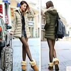Korean winter women's fashion casual hooded jacket Slim thick coat