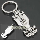FORMULA ONE F1 RACE RACING CAR MODEL MEN KEYCHAIN KEY CHAIN FOB RING HOLDER NEW