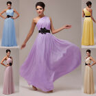 STOCK Bridesmaid Wedding Gown Prom  Bridal Evening Dresses Size 6-8-10-12-14-16