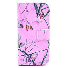 Designer Flip Leather Wallet Case Rubber Skin Stand Folio Cover For Apple iPhone