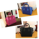 Women Lady Handbag Fashion Shoulder Bags Tote Purse Frosted PU Leather Bag