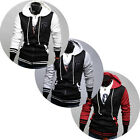 UK FAST~ Trendy Mens Warm Hoodie Casual Wear Coat Jacket Sweatshirts Hoody Coats