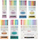 Внешний вид - NEW Zebra Mild Liner Color Gel Ink Marker Pen Set WKT7 Free S/H Japan