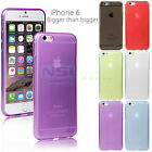 "Transparent Protective TPU Cover Skin for 4.7"" iPhone 6 Ultra-Slim Back Case"