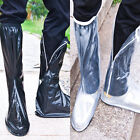 New Hot Flat Waterproof Shoes Covers Side Zipper Rain Shoes Protector Boots T149
