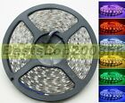 Full color 5M 5050 RGB Flexible Waterproof 60LED/M 300LEDs LED strip bright