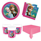 Disney Frozen Anna, Elsa, Essential Party Kits Plates, Cups etc for 8 to 40 kids