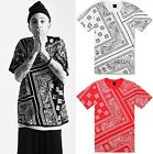 Graffiti hip-hop mens sleeve t-shirt clothes casual man Short sleeve #T4