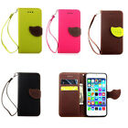 "Leaf Leather Flip Card Slot Wallet Stand Pouch Case Cover For Apple 4.7"" iPhone6"