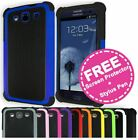 Shockproof Armor Heavy Duty Case Tough Shock Proof Cover for Samsung Galaxy S3